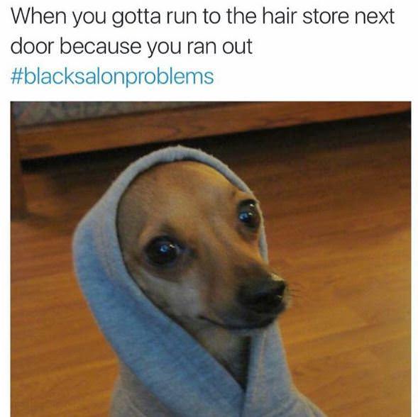 #blacksalonproblems 17