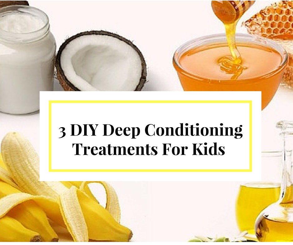 3 DIY Deep Conditioning Recipes