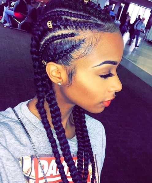Cornrow Hairstyles Short The Different Cornrow Styles Cornrows With ...