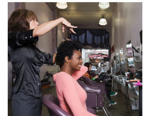 my first new york natural hair salon experience black