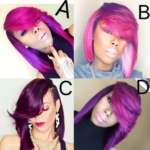 Shades of purple: Which is your fav? @thehairicon
