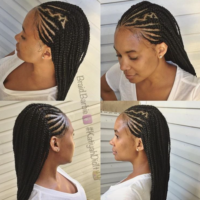 Love these braids by @braid.barbie