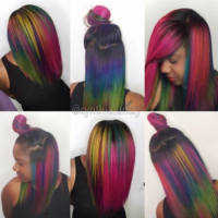 Color craze by @cynthialumzy