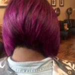 Love this purple bob via @styles_4_usalon