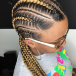 Clean feed in braids by @_j.kimble