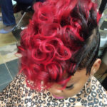 Red hawk by @hairbylatise