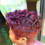 Perfect color combo by @razorchicofatlanta