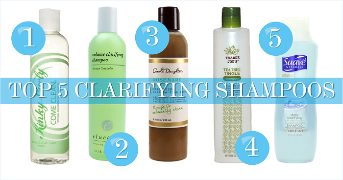 Top 5 clarifying shampoo