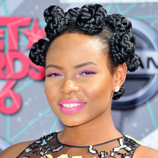 LOS ANGELES, CA - JUNE 26: Recording artist Yemi Alade attends the 2016 BET Awards at Microsoft Theater on June 26, 2016 in Los Angeles, California. (Photo by Allen Berezovsky/WireImage)