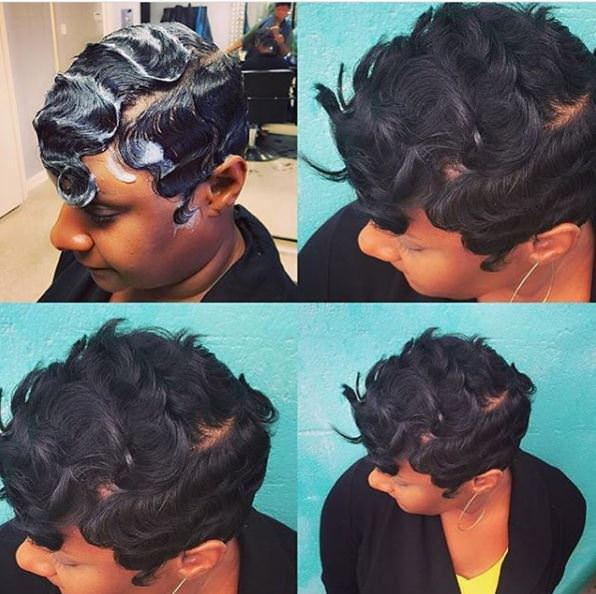 8 Finger Wave Styles Perfect For The Woman That Prefers Short Hair Gallery Black Hair