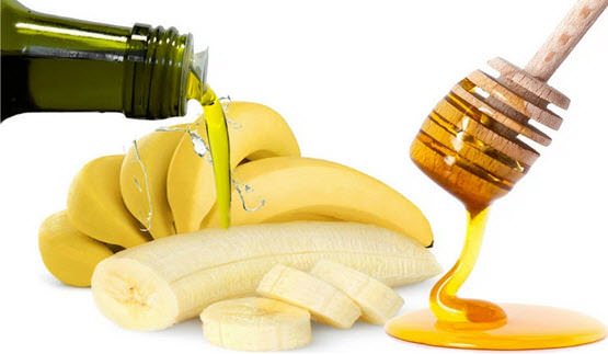 Banana-Honey-and-Olive-oil-Deep-Conditioner