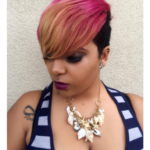 Dope color combo by @thehairicon