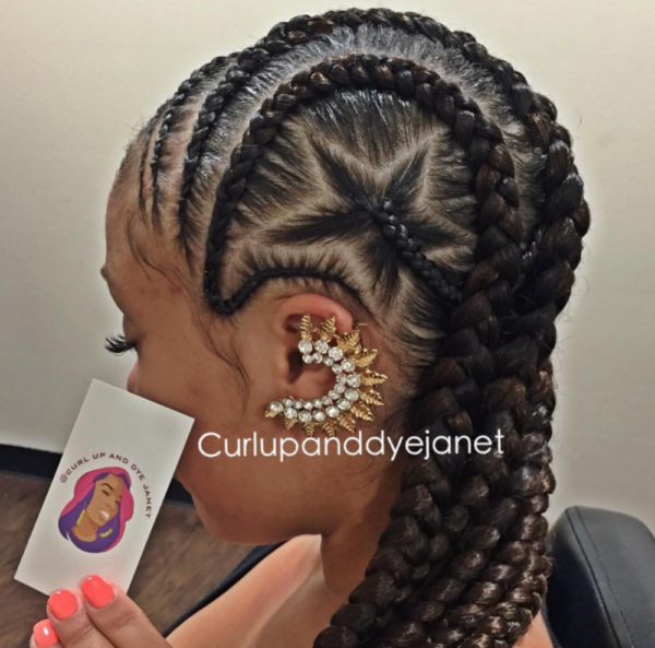 Dope Design Be Curlupanddyejanet Black Hair Information