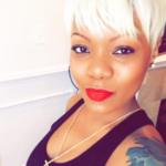 Edgy platinum blonde @msklarie
