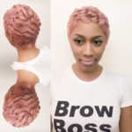 Custom pink by @hairbylatise