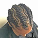 Nice feed in braids via @i.pj