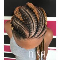 Flawless braids via @nisaraye