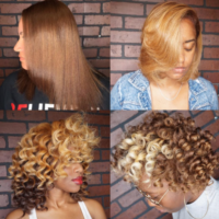 Beautiful shades of blonde via @thehairmagician