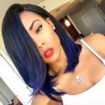 Gorgeous blue @iamjaelroumain