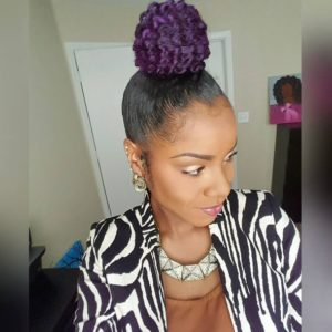 """9 Awesome Summer Styles From Self Named """"Grape Head' Karissa R (@krates1913)"""