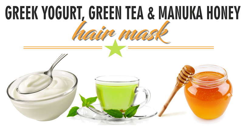 Diy Greek Yogurt Green Tea And Manuka Honey Hair Mask