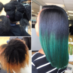 Dope green ombre by @lisavirgo