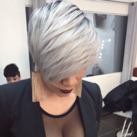 Dope platinum via @hairbylatise