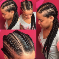 Clean braids via @amber_belovely