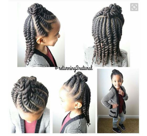 8 Simple Protective Styles For Little Girls Headed Back To