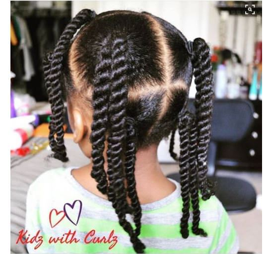 8 Simple Protective Styles For Little Girls Headed Back To School Gallery - Black Hair Information