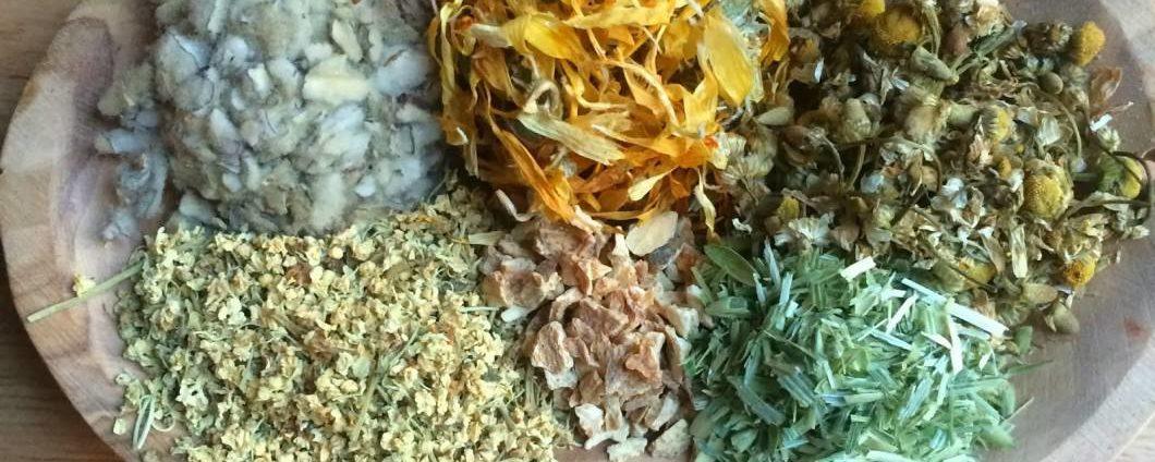 DIY Herbal Hair Rinse For Dry or Oily Hair