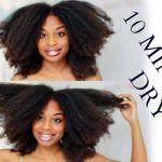 10 MINUTE BLOW DRY | Natural Hair Hack That Everyone Should Know! [Video]