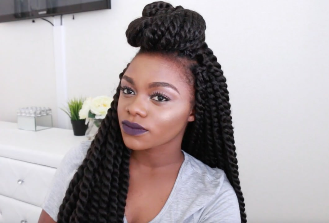 twist in black hair styles 11 styles for braids and twists black hair 3092