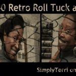 1940 Retro (Roll Tuck And Pin) Type4 #Naturalhair