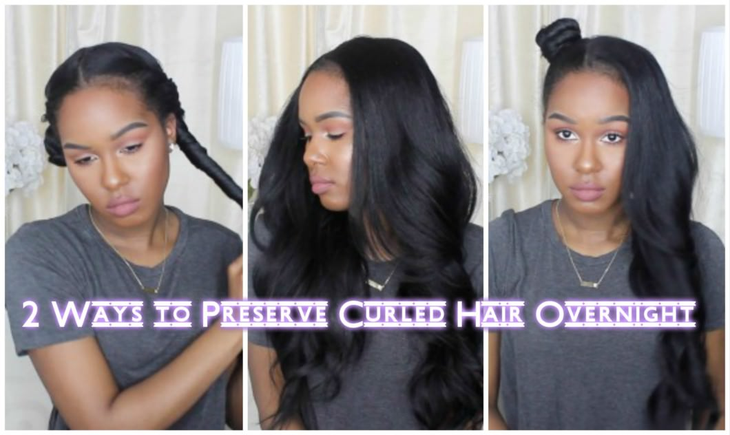 How To Preserve Natural Hair Overnight