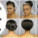 3 Natural Hair Up-do's Bridal Edition