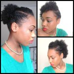 3 Simple Cute Styles for Short Natural Hair [Video]