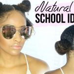 4 QUICK & EASY Natural Curly Hairstyles For SCHOOL! [Video]