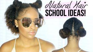 Back To School Hairstyles Curly Straight Jasmeannnn