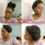 4 Styles For Kinky Twists [Video]