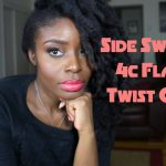 4C Side-swept Flat Twist Out [Video]