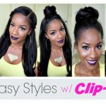 5 Simple Ways to Style Clip-in Extensions [Video]
