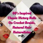 60s Inspired Style on Crochet Braids [Video]