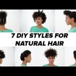 7 DIY Natural Hairstyles [Video]