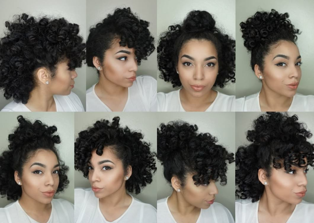 8 Hair Styles For Perm Rod Sets