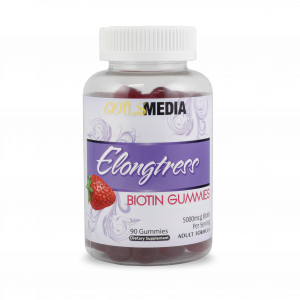 Elongtress Biotin Gummies - 5000mcg - 1 Bottle
