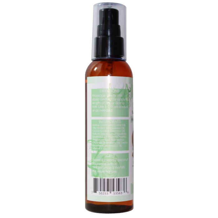 Elongtress Fancy Oil - Hair Growth Enhancer (Coconut & Almond)