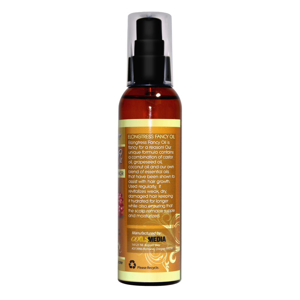 Elongtress Fancy Oil - Hair Growth Enhancer (Vanilla Caramel Cupcake)