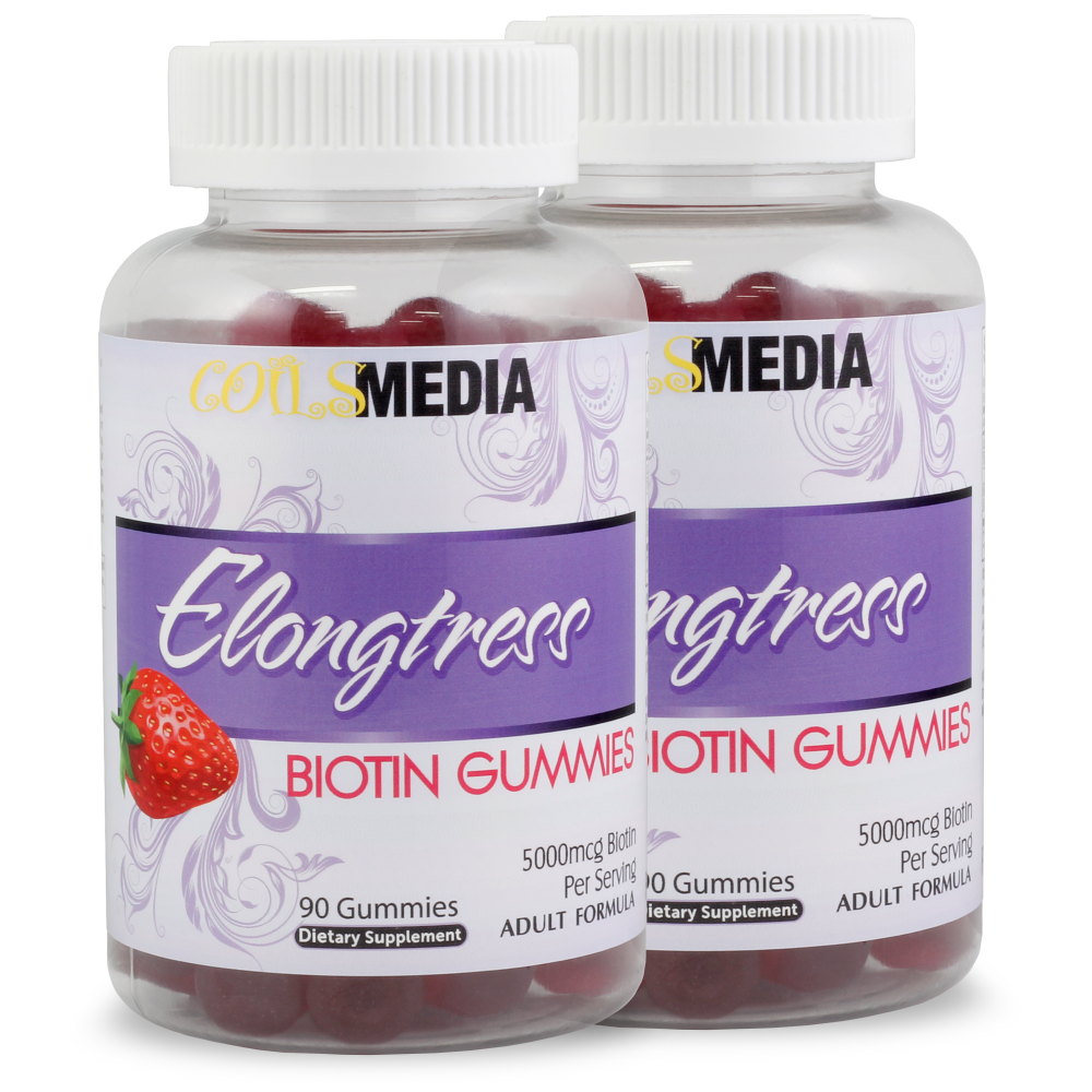 Elongtress Biotin Gummies - 5000mcg - 2 Bottles