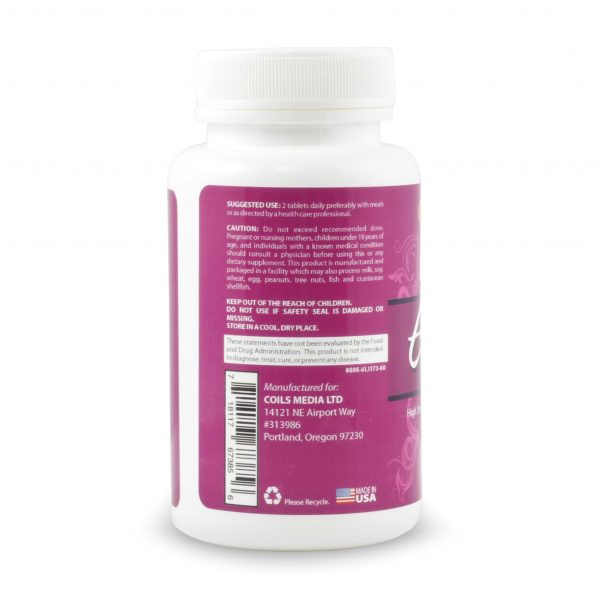 Elongtress Vitamins - 1 Month Supply